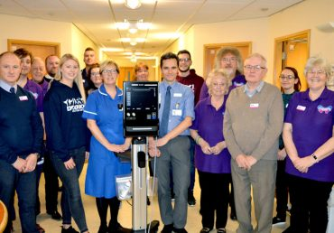 SCANNERS DONATED TO LOCAL HOSPITALS